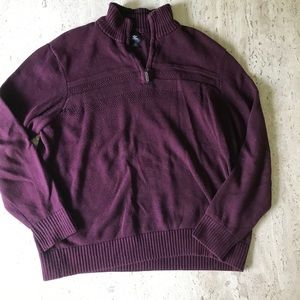 Maroon Dockers Quarter Zip